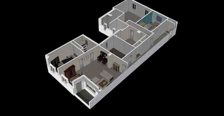 piso original Interior Design Render
