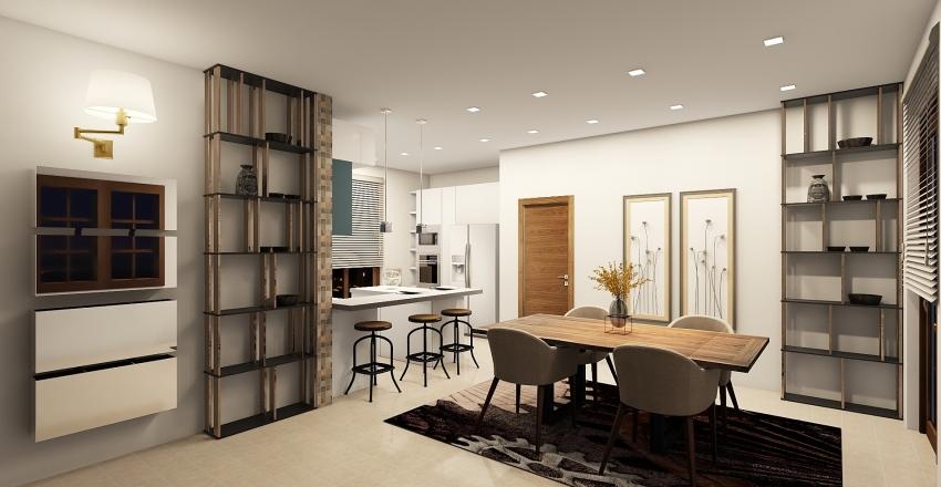 Fidarsi è bene: Conti's House Interior Design Render