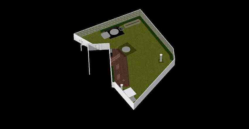 Belleview Backyard Interior Design Render