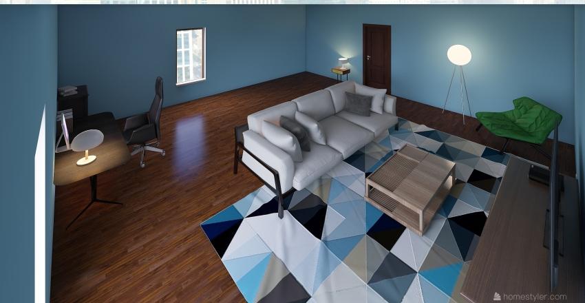pokój 3D Interior Design Render