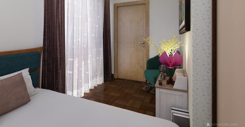Weathered City Apt. Interior Design Render