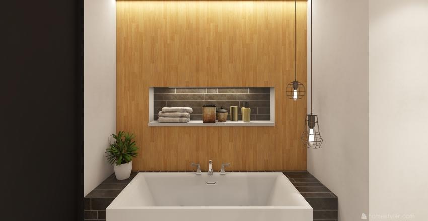 Brick trend Interior Design Render