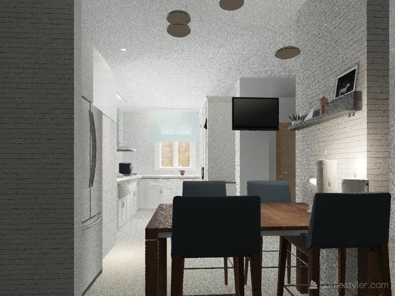 Nataky Levy kitchen Interior Design Render