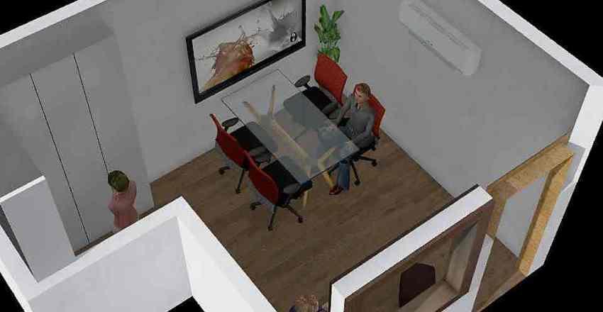 Sala BIM Interior Design Render