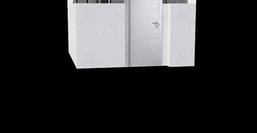 2שחורי מקלחת ילדים Interior Design Render