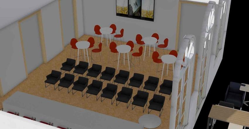 Sala Stampa_prop 2 Interior Design Render