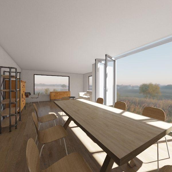 29 Benmore - walls removed Interior Design Render