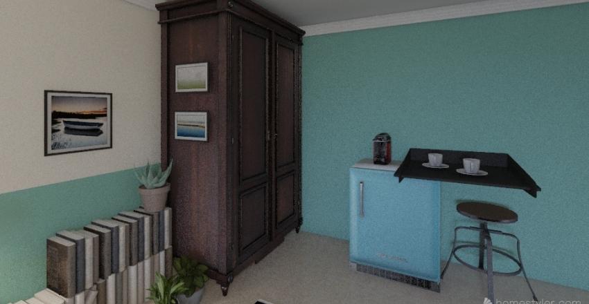 Quarto Ian Interior Design Render
