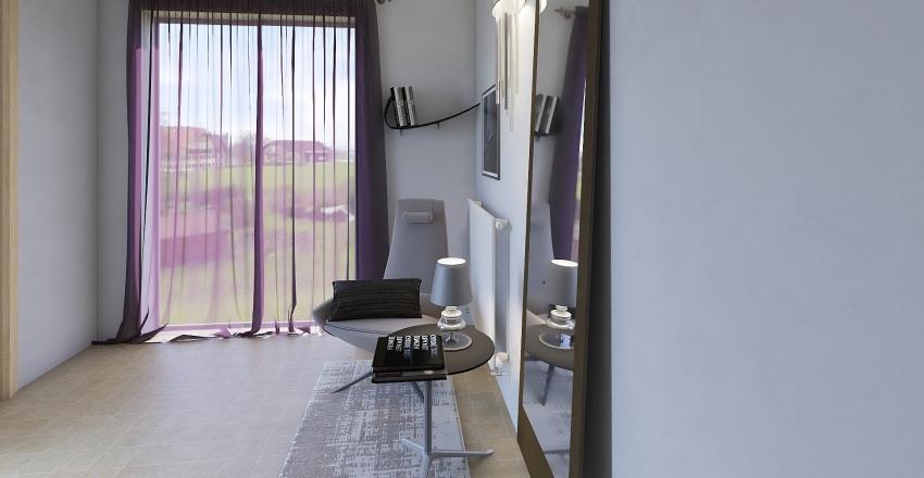 Angolo lettura Interior Design Render