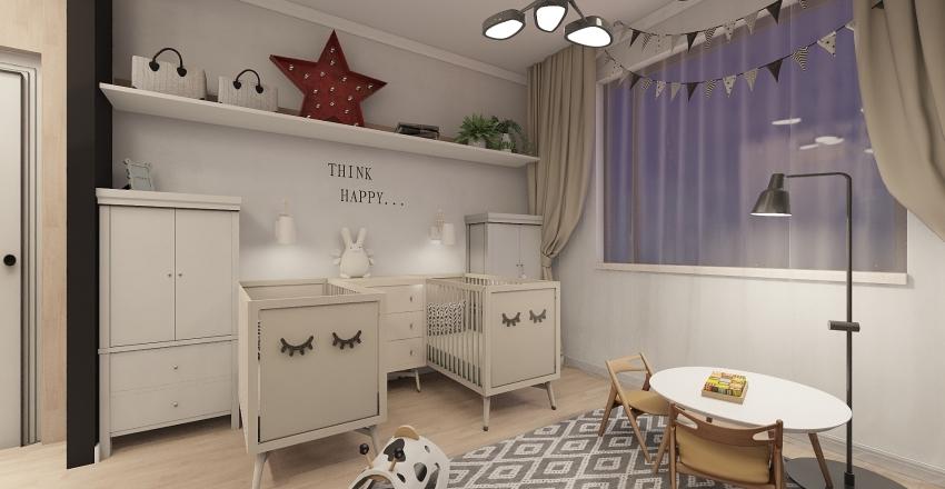 Apartment in Moscow  Interior Design Render