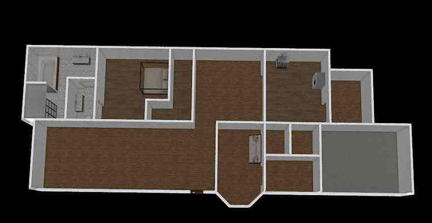 4 bed ranch Interior Design Render