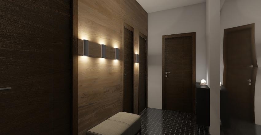 Apartment for 2 Interior Design Render
