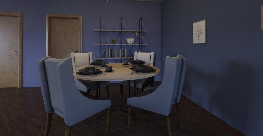 Kota and Maeve Apt Interior Design Render