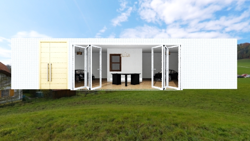 Dealership Interior Design Render