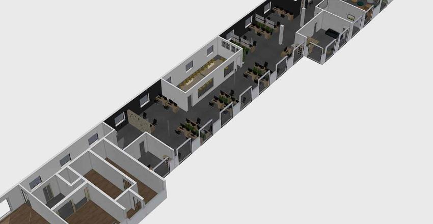 Biuro Nieszawska - kolor scian 2 Interior Design Render