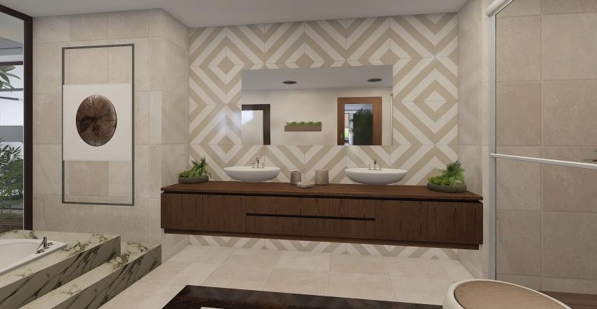 Mi chalet moderno Interior Design Render