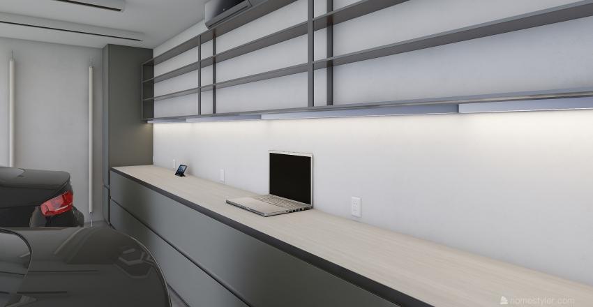 garaz Interior Design Render