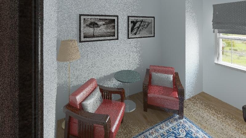 Basic Room Interior Design Render