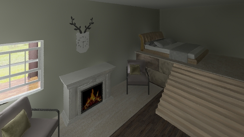 middle of nowhere Interior Design Render