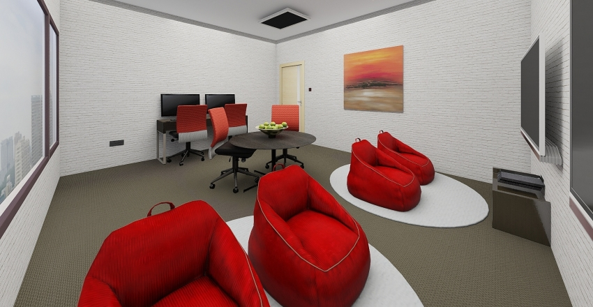 IG Collaboration Rm Interior Design Render