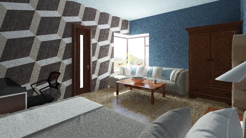 Desde Cama Interior Design Render
