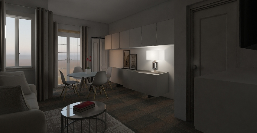 GIULIO TUGLIE Interior Design Render