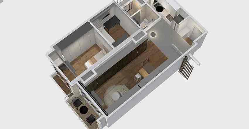 中壢臻美-29坪-B2-5 Interior Design Render