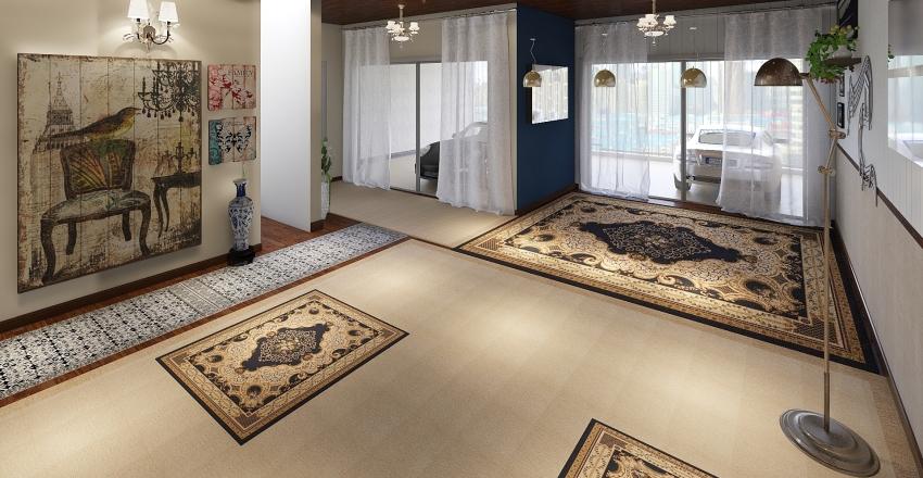 Piano Room Decor Interior Design Render