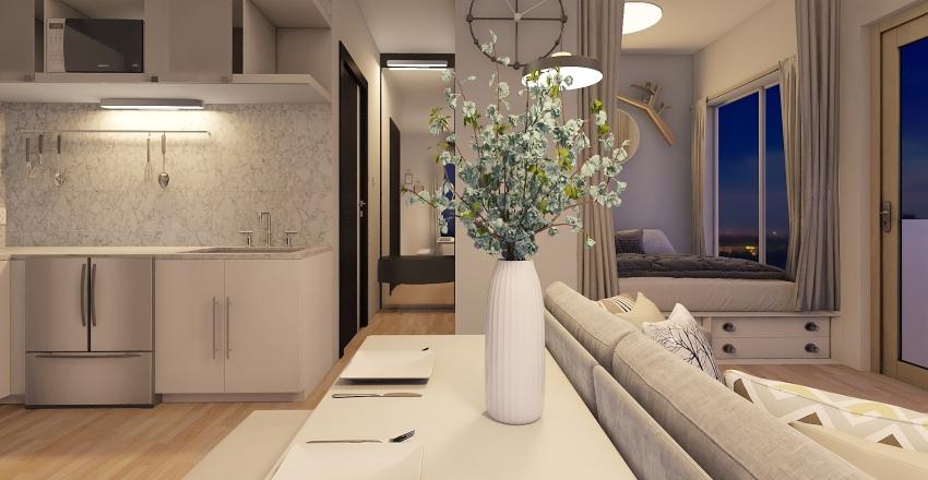 Urban Jungle Interior Design Render