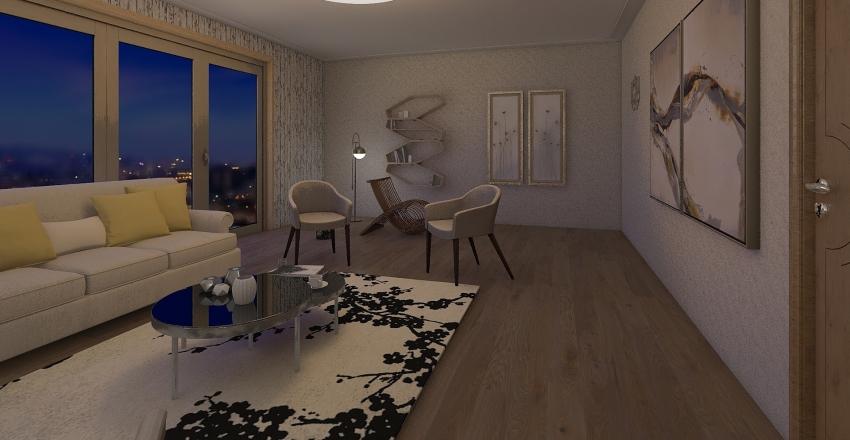 my first trial Interior Design Render