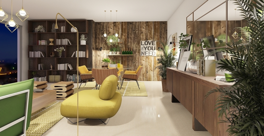 Lemon Tree Interior Design Render