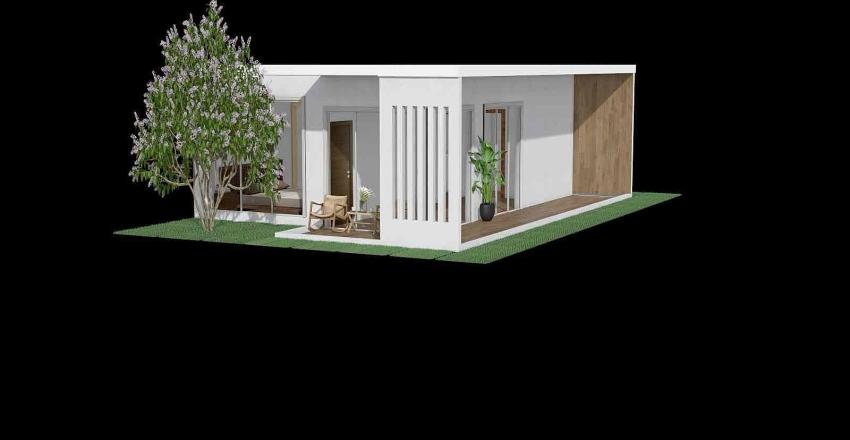 Park Ha Na Villa Interior Design Render