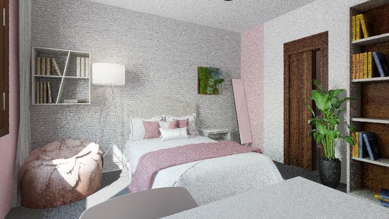 Bedroom redesign Interior Design Render