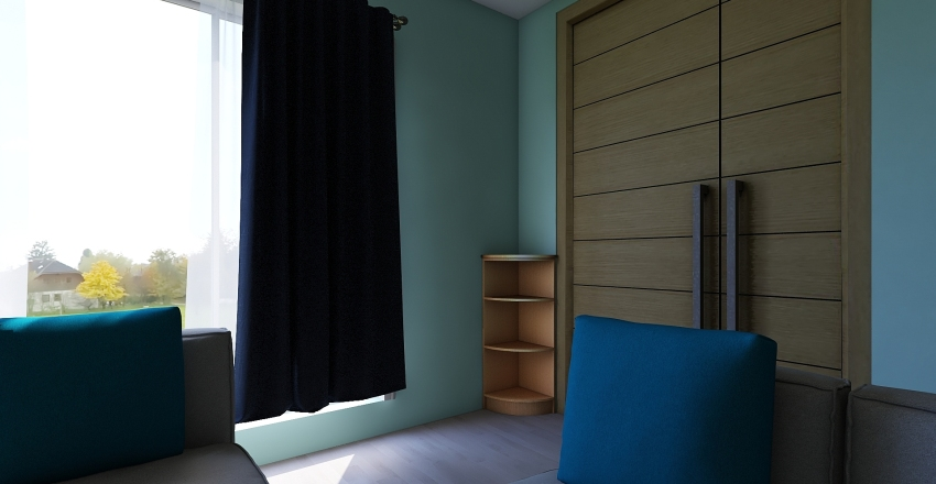 Simple Home Interior Design Render