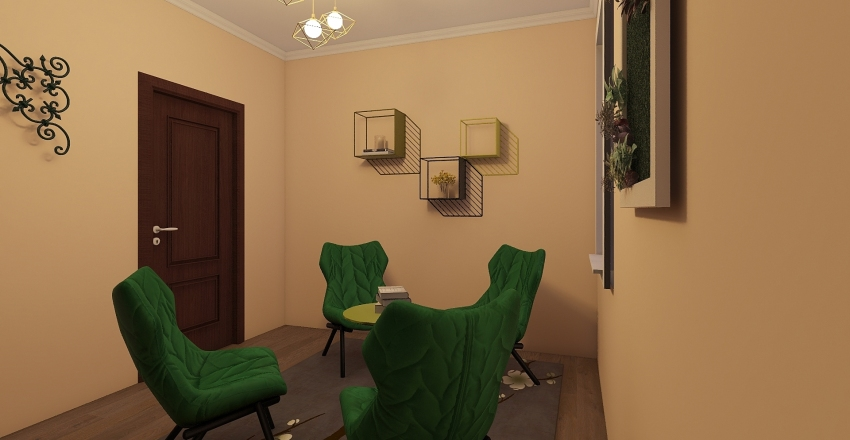 relaxation  Interior Design Render