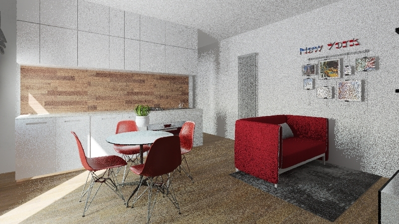 PROGETTO D'AMORE 3 Interior Design Render