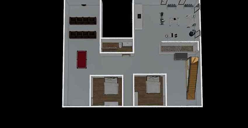 pueblo Interior Design Render