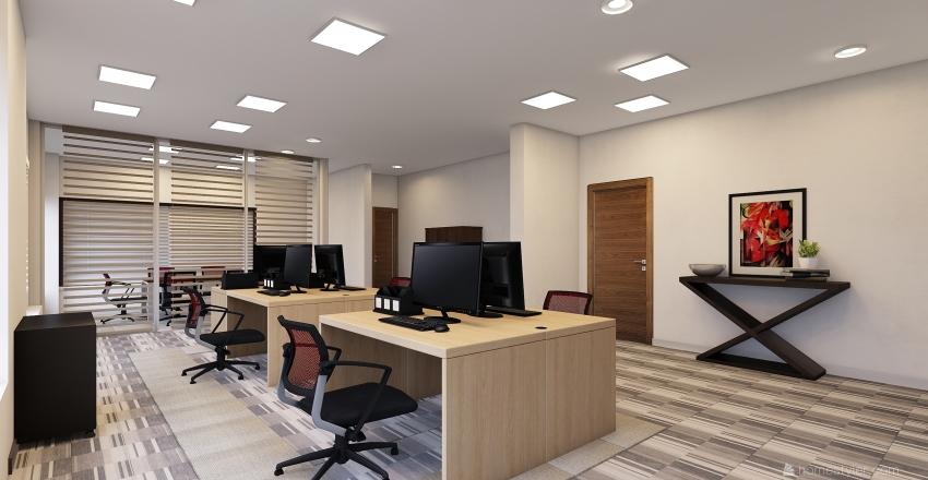 Escritório FK Interior Design Render