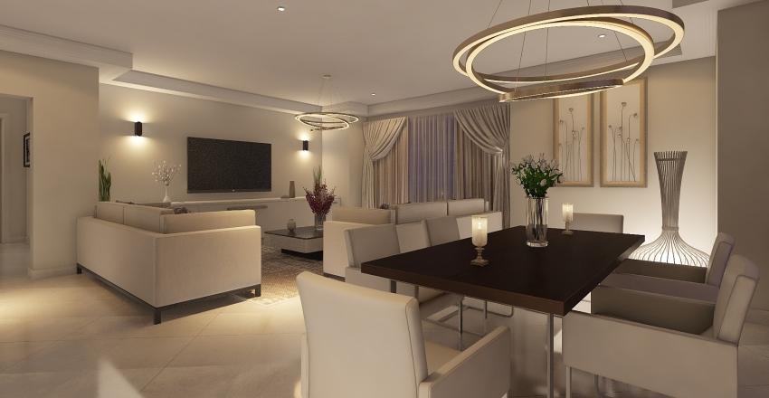 μικρο Interior Design Render