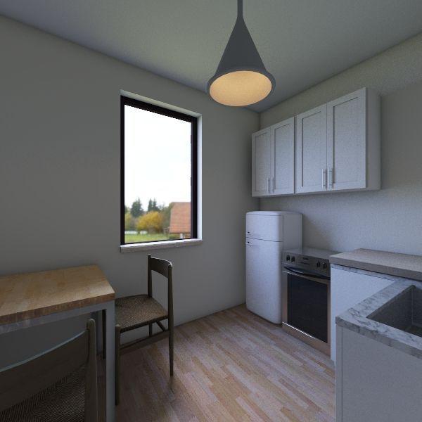 Bronowice_kuchnia Interior Design Render