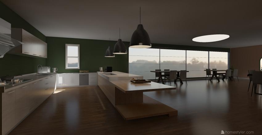 ครัว Interior Design Render