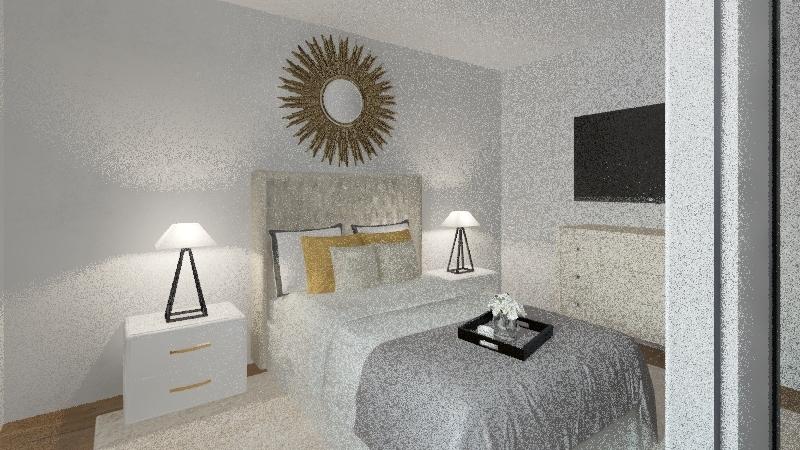 Home Office - Renovation Interior Design Render