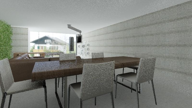 Stinson Container Interior Design Render