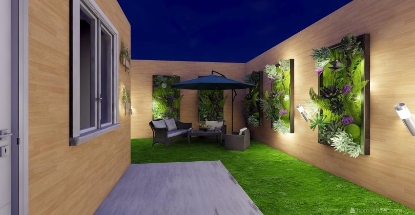 yard Interior Design Render