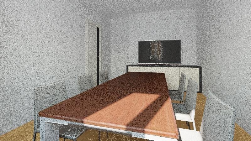 Ufficio Via Melchiorre Interior Design Render
