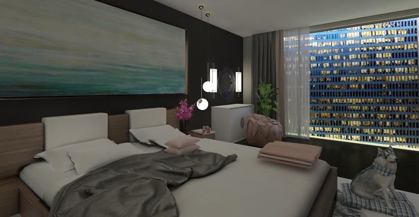 Minimalist - Completed Interior Design Render
