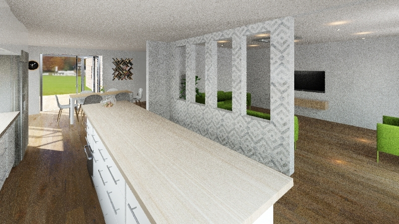 v3_kitchwall_semiope Interior Design Render