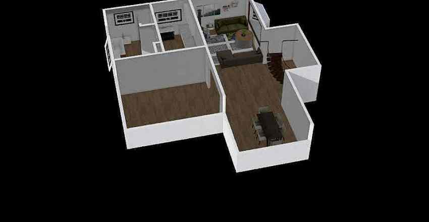 house simple Interior Design Render
