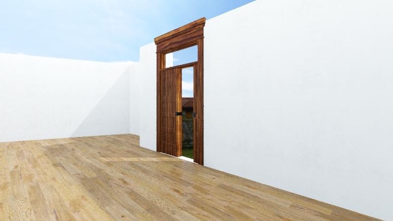 Outdoor Garden Design  Interior Design Render