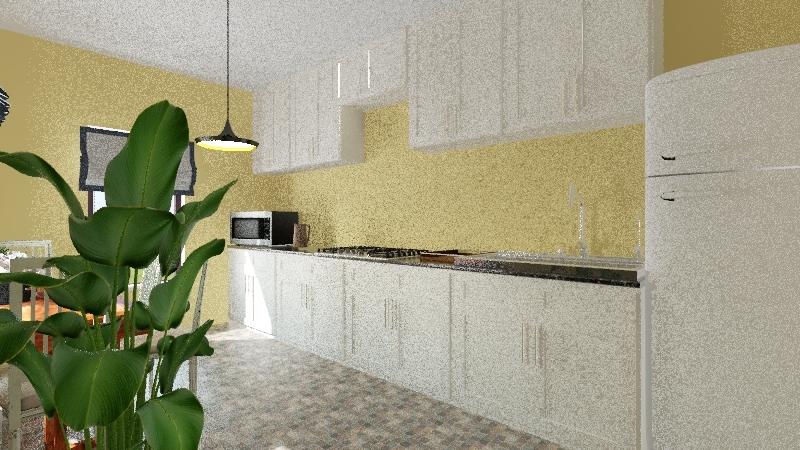 Cocina casa de Dani Interior Design Render